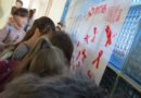 """Акція """"Червона стрічка проти СНІДу"""""""