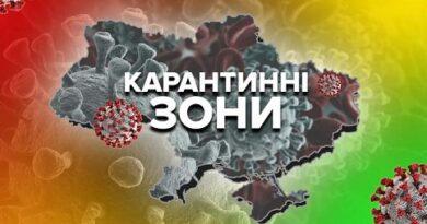 Перелік обмежень під час карантину на території Запорізької області